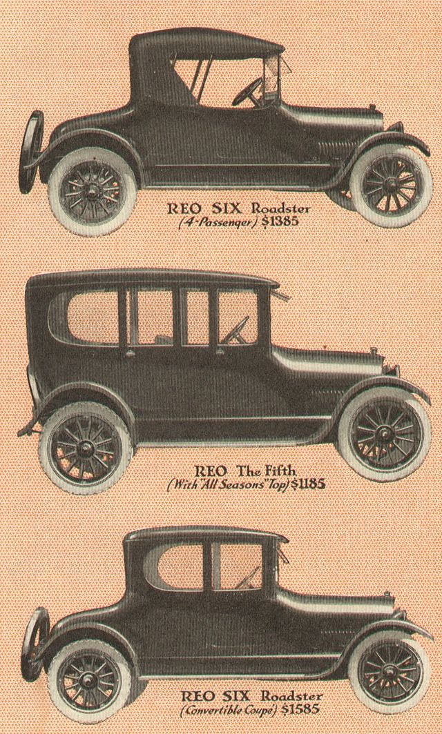 1917 ReoCars