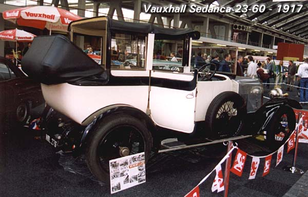 1917 Vauxhall Sedanca