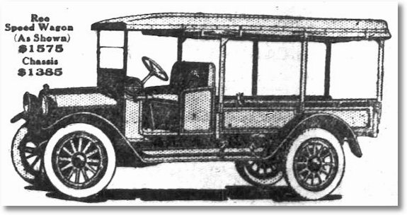 1918 The REO Speed Wagon was a motor truck manufactured by REO Motor Car Company