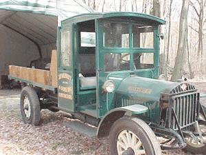 1919 Diamond t 4cyl 15 ton farmtruck