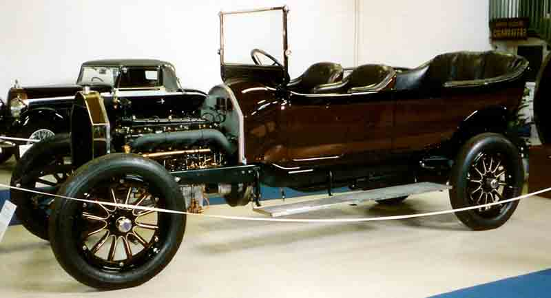 1919 Pierce-Arrow Model 48-B-5 7-Passenger Touring