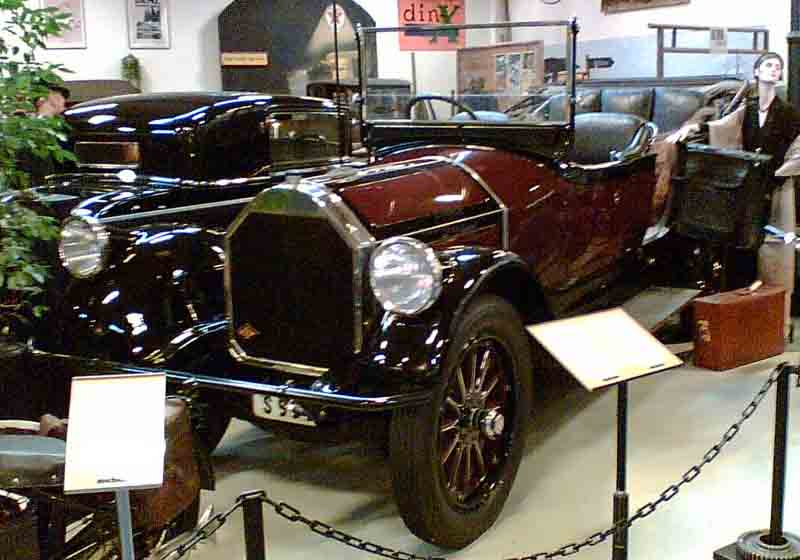 1919 Pierce-Arrow vehicles Model 48-B-5 7-Passenger Touring