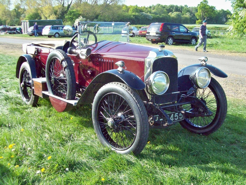 1920 Vauxhall 30-98 E Engine 4525 S4 SV