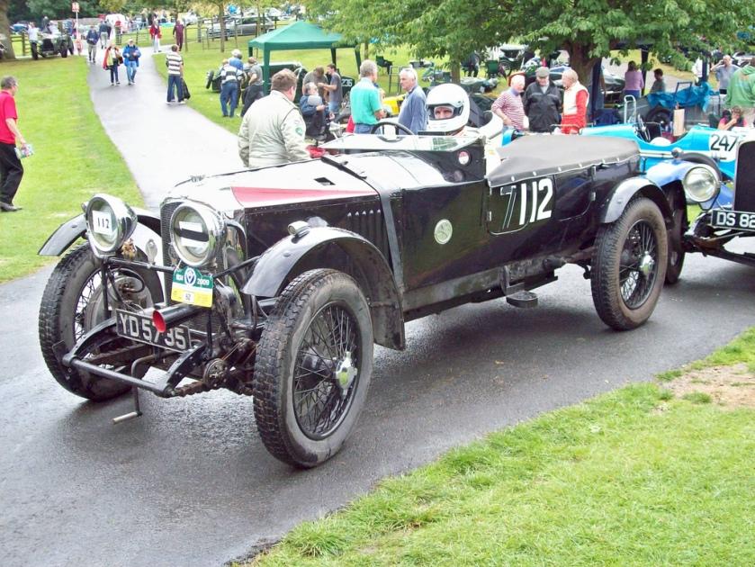 1921-24 Vauxhall 30-98 Velox (Mod)  Engine 4224cc Car Number 112