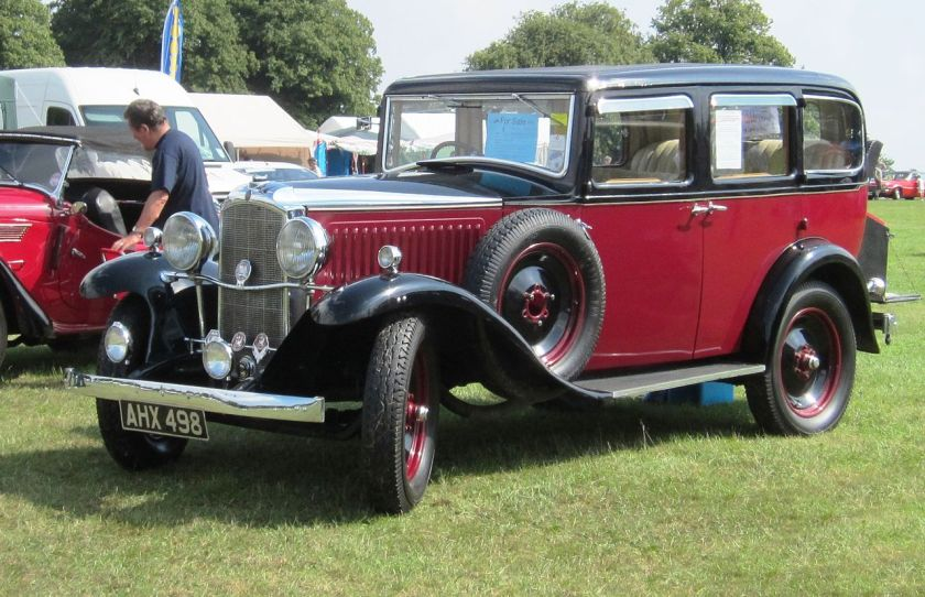 1921-33  Vauxhall Cadet Grosvenor bodied 1933 at Knebworth