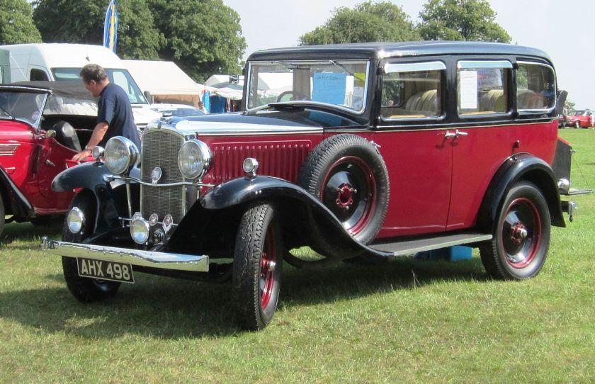 1921-33  Vauxhall Cadet Grosvenor bodied 1933 at Knebworth