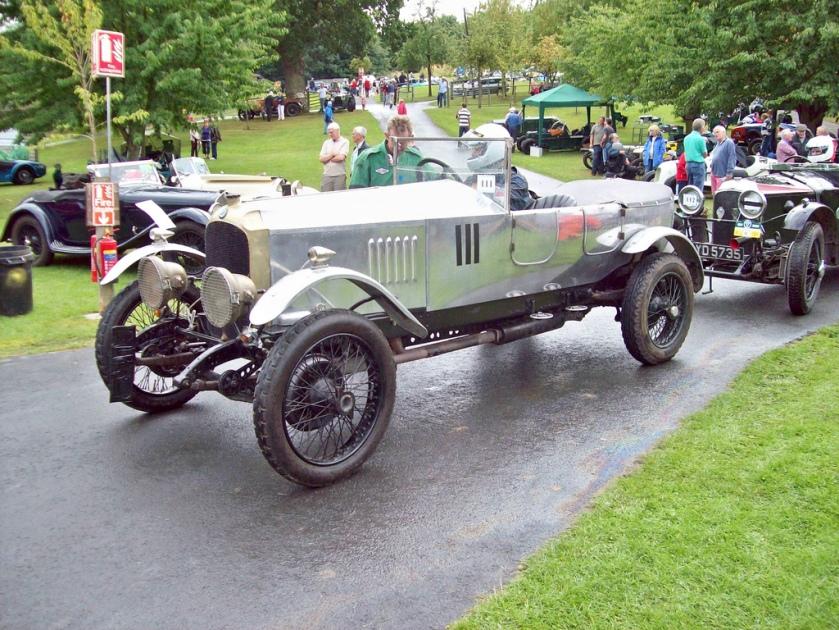 1922 Vauxhall 30-98 E Type Velox (Mod) Engine 4500cc Car Number 111