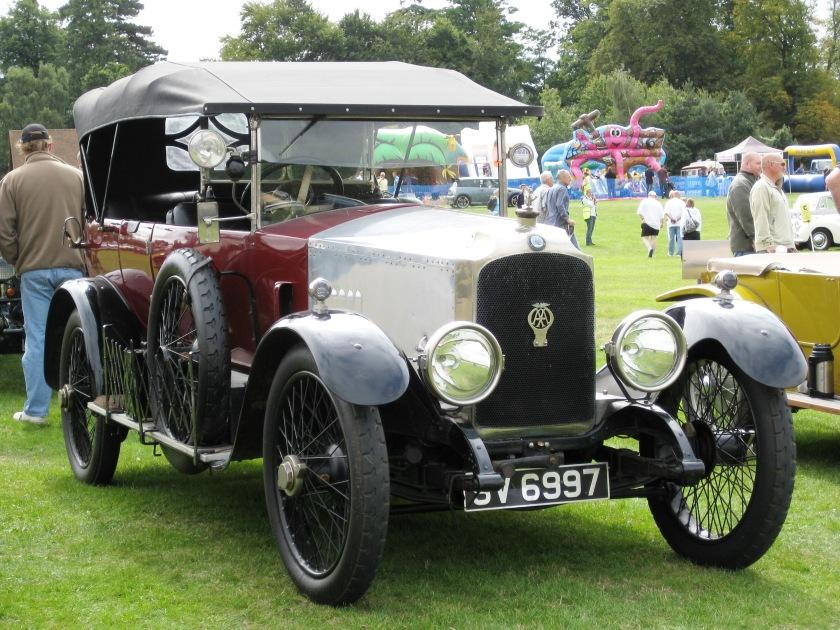 1922 Vauxhall D-type 3970cc