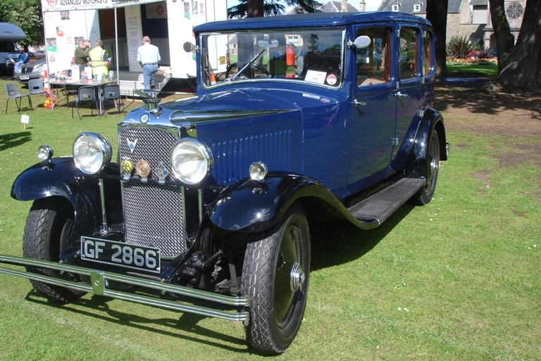 1930 Vauxhall 20/60 Silent 6 GF 2866 Sandy Scott Elgin