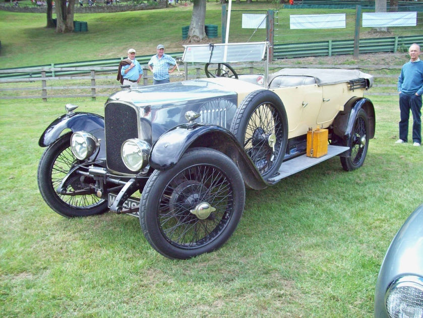 1923-26 Vauxhall OD 23-60 Kington tourer Engine 3969cc