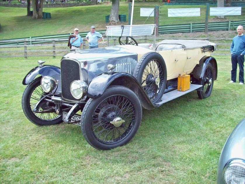 1923-26 Vauxhall OD 23-60 Kington tourer Engine 3969cc