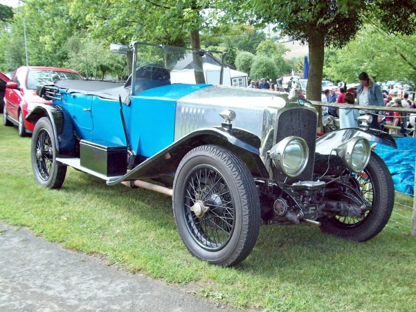 1923-27 Vauxhall 30-98 OE Engine 4224cc 5