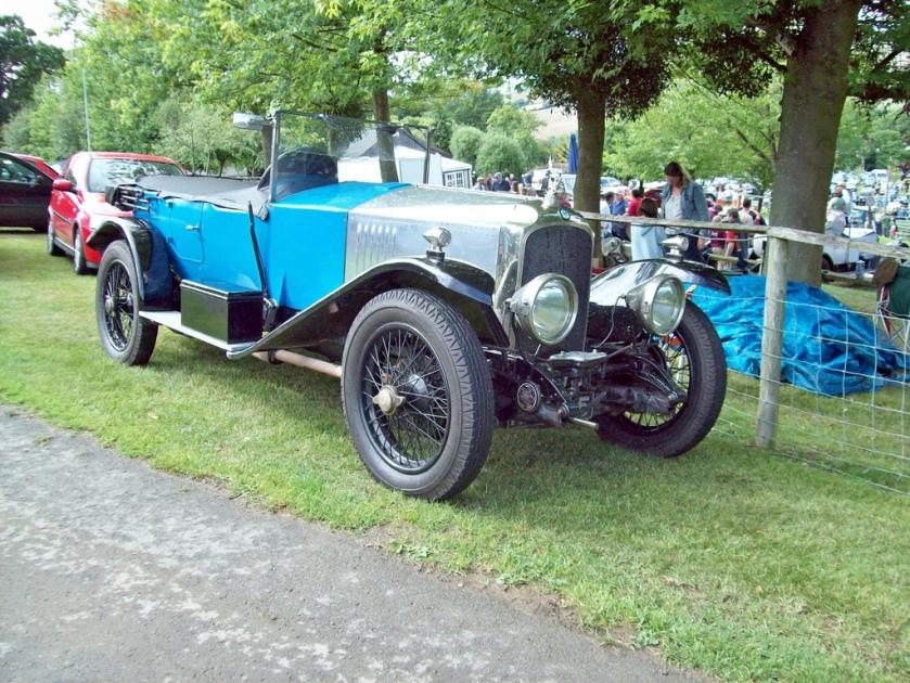 1923-27 Vauxhall 30-98 OE Engine 4224cc Pr