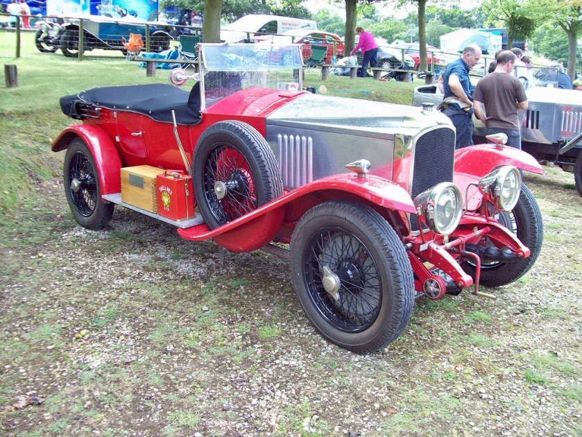 1923-27 Vauxhall 30-98 OE Engine 4224cc Production 313
