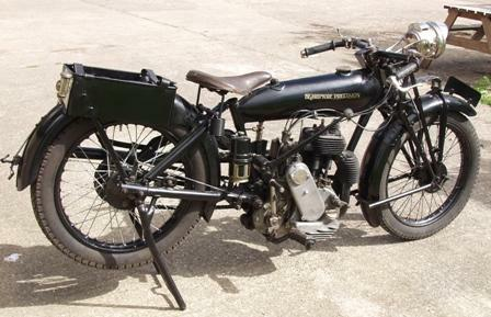 1923 Beardmore Precision powered by a Precision 500cc sidevalve