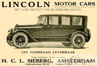 1923 lincoln sieberg