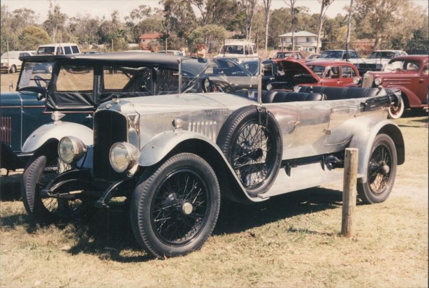 1923 Vauxhall 30-98 ep