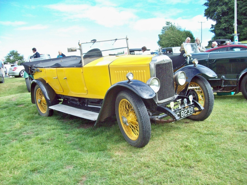 1924-26 Vauxhall LM Type 14-40 Engine 2297cc