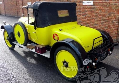 1924 Vauxhall 14-40hp M-type Tourer by Melton