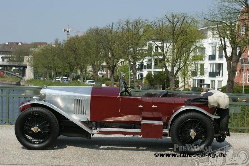 1924 Vauxhall 30-98 OE-Type Velox Tourer