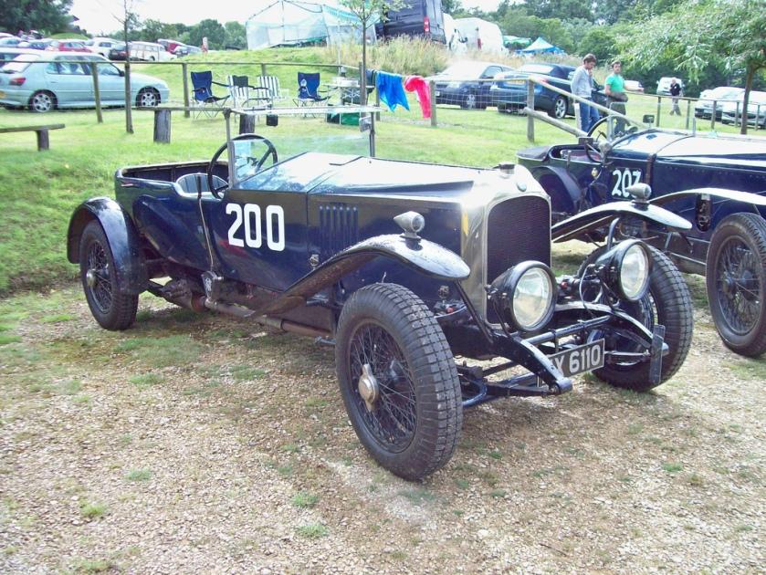 1924 Vauxhall 30-98 (Spcl.) Engine 4224cc Car Number 200
