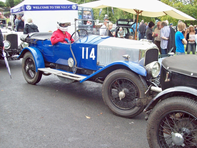 1924 Vauxhall 30-98 Tourer (Mod)  Engine 4224cc Car Number 114