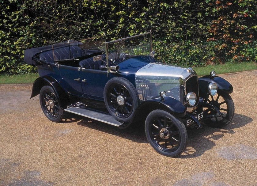 1925 Beardmore 12-30 with standard tourer body by Kelly
