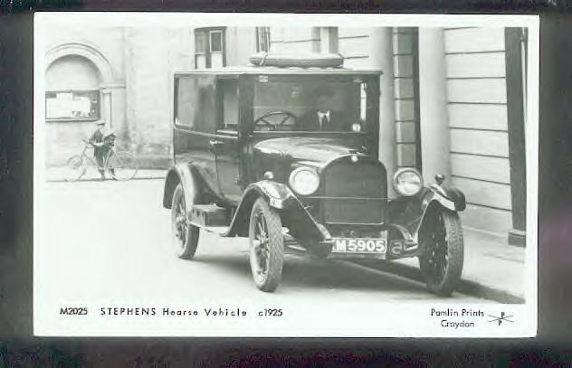 1925 Stephens Hearse