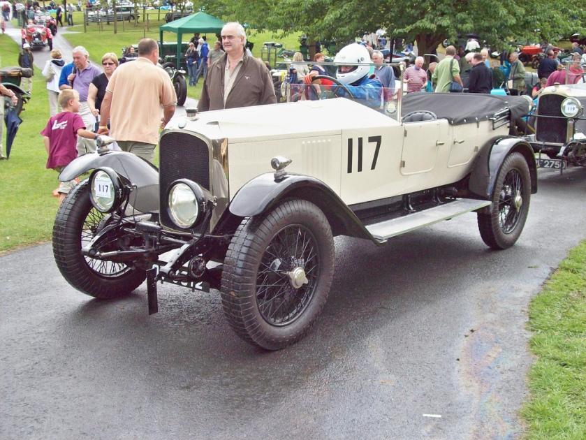 1925 Vauxhall 30-98 OE (Mod) Engine 4224cc Car Number 117