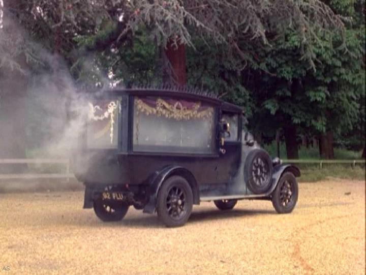 1926 Austin 20-4 Hearse Thom