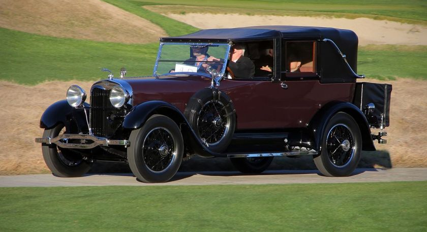 1926 Lincoln L-series town car