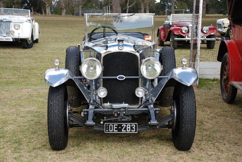 1926 Vauxhall 30-98 Velox