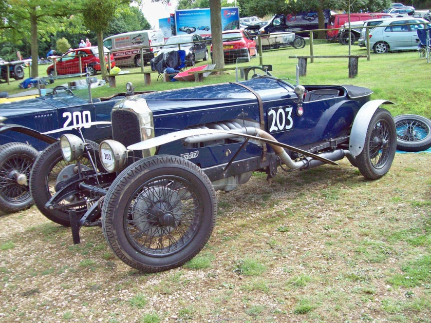 1926 Vauxhall Bearcat Special Engine 6000cc Car Number 203