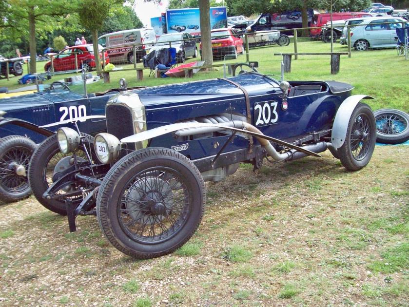 1926 Vauxhall Bearcat Special Engine 6000cc Car Number 203