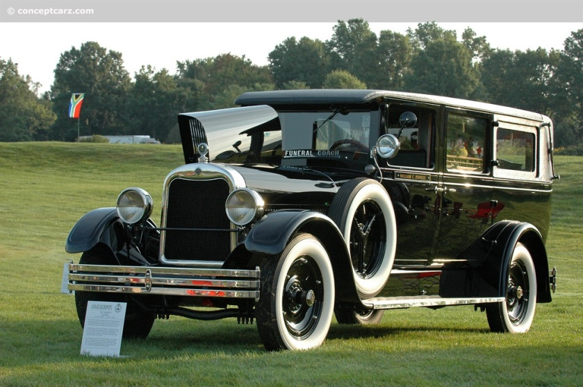 1927 Chevrolet Henney-Hearse