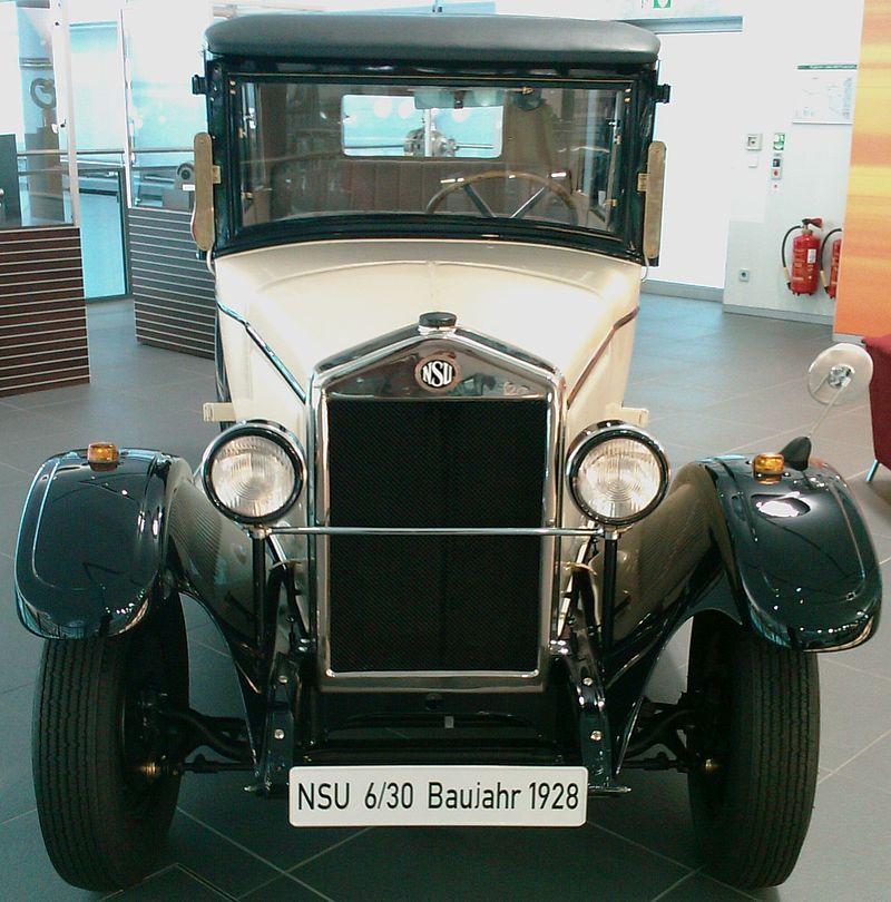 1928 NSU 6-30 (Audi Forum Neckarsulm)