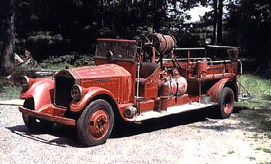 1928 Pierce-Arrow Fleet-Arrow-Wagon Fire Truck