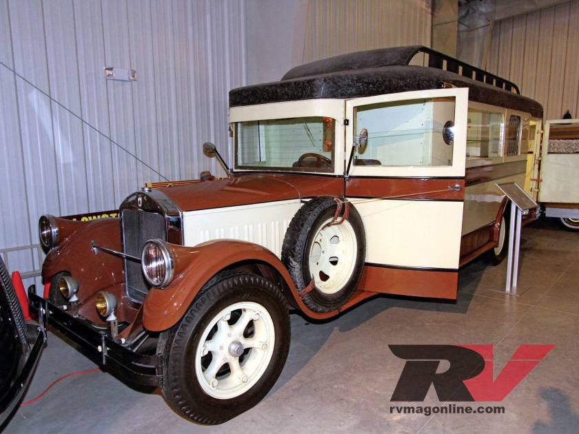 1928 Pierce Arrow Fleet House Car