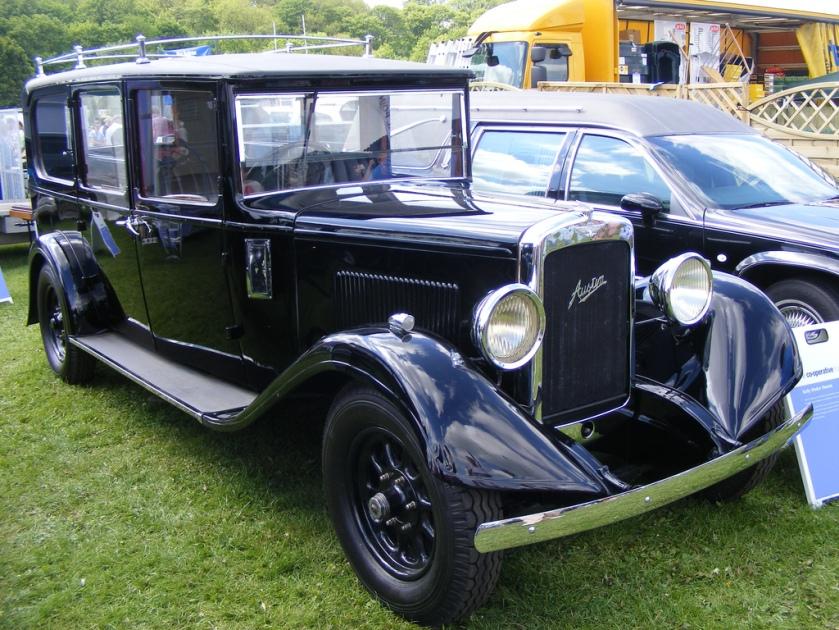 1929 Austin Rouwauto