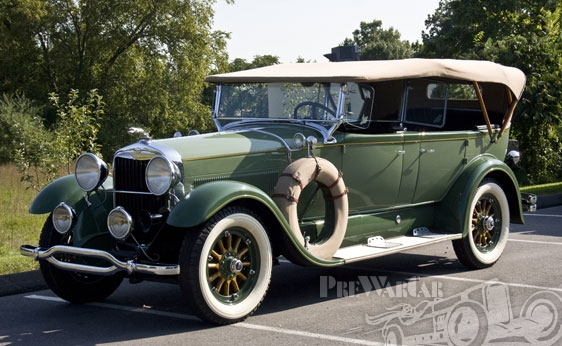 1929 Lincoln Model L 7-Passenger Phaeton