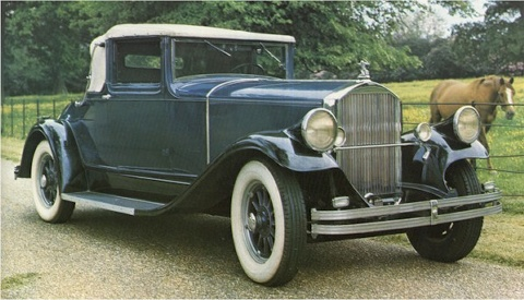 1929 Pierce-Arrow Straight Eight