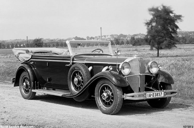 1930 770 Grand Mercedes (W 07 series, 1930 – 1938)