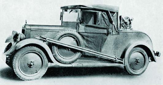 1930 Hanomag 4-20PS (Kfz.2)