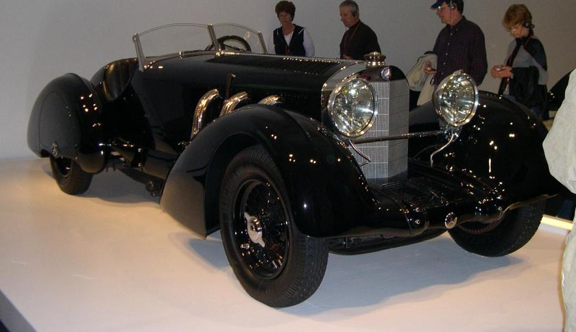 1930 Mercedes-Benz SSK 34