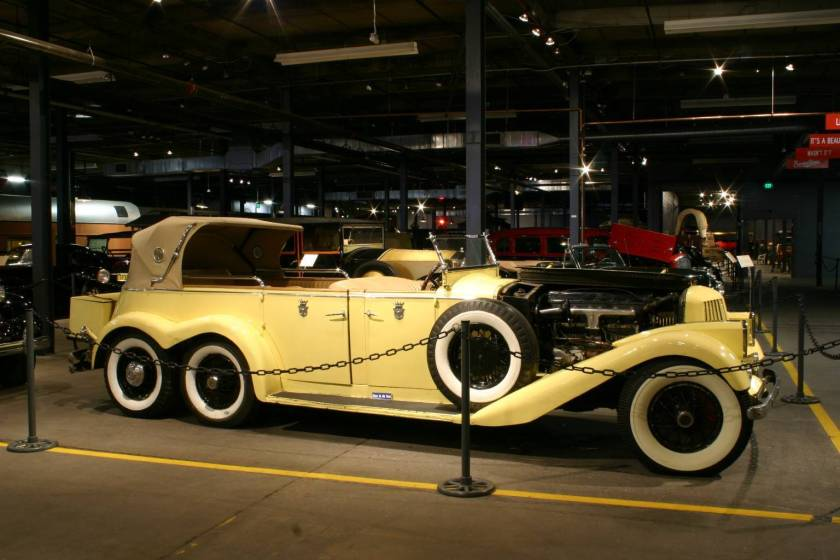 1930 Pierce Arrow B Sport Roadster