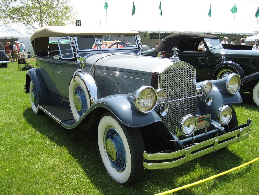 1930 Pierce-Arrow Model B Dual-Cowl Phaeton