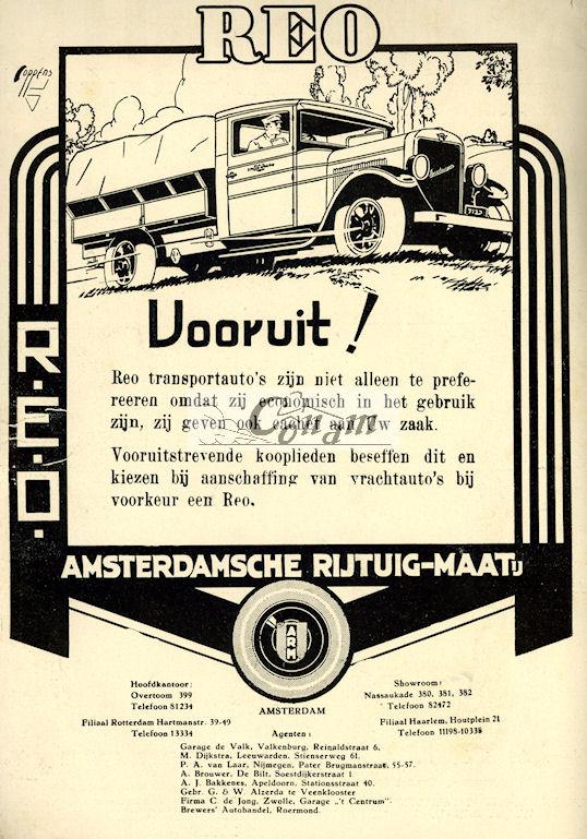 1930 REO-arm