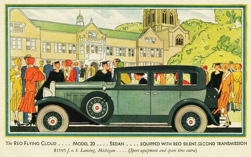 1930 Reo Flying Cloud Model 20 Sedan
