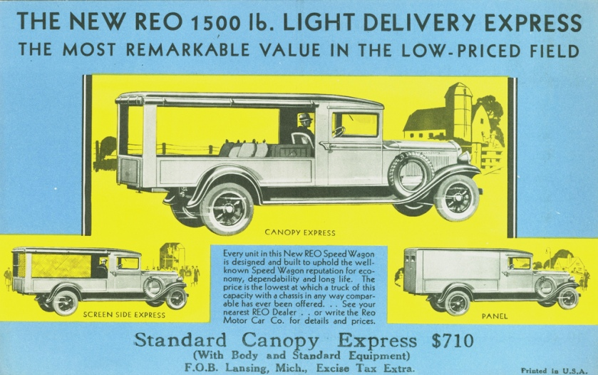1930 Reo Light Delivery Express