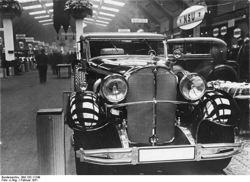 Berlin, Eröffnung der Automobilausstellung